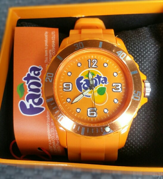 ファンタ時計を200円!クレーンゲームでゲットした