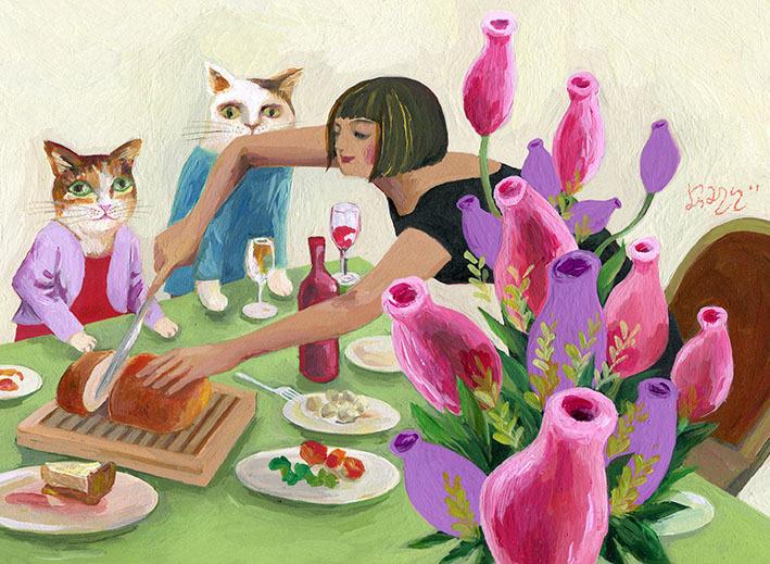 猫と暮らす7