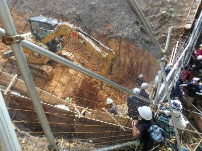CvhyUQLVYAAhfir高江オスプレイパッド建設H地区の赤土流出防止工事