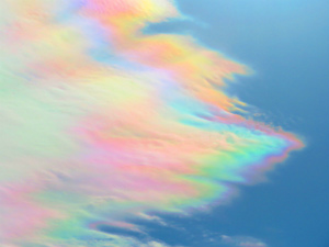 Cv2ayCHUMAAO昨日見かけた彩雲を