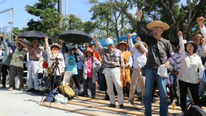 s1ersmedia「土人」発言に4百人抗議