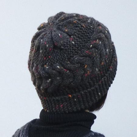 1561スターメツィードケーブル帽子