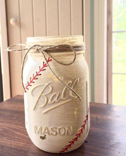 Mason-jar-for-baseball-themed-wedding-decor.jpg