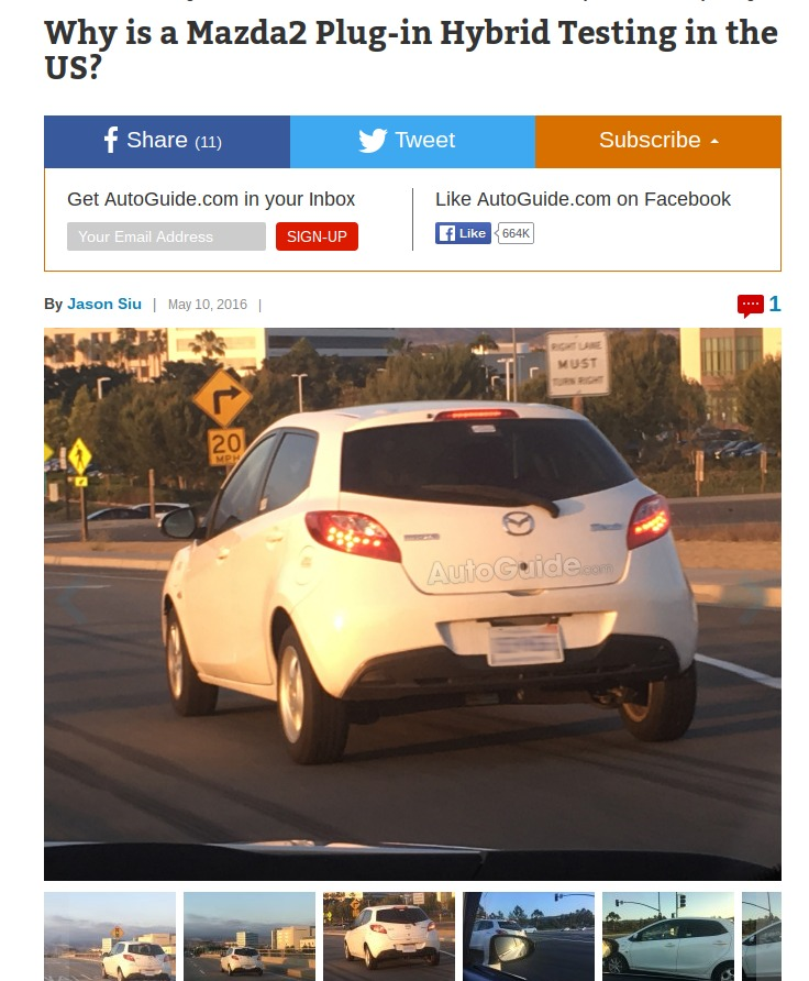 Why is a Mazda2 Plug in Hybrid AutoGuide