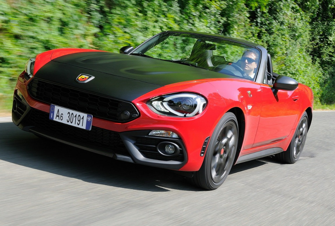abarth 124 spider primo contatto