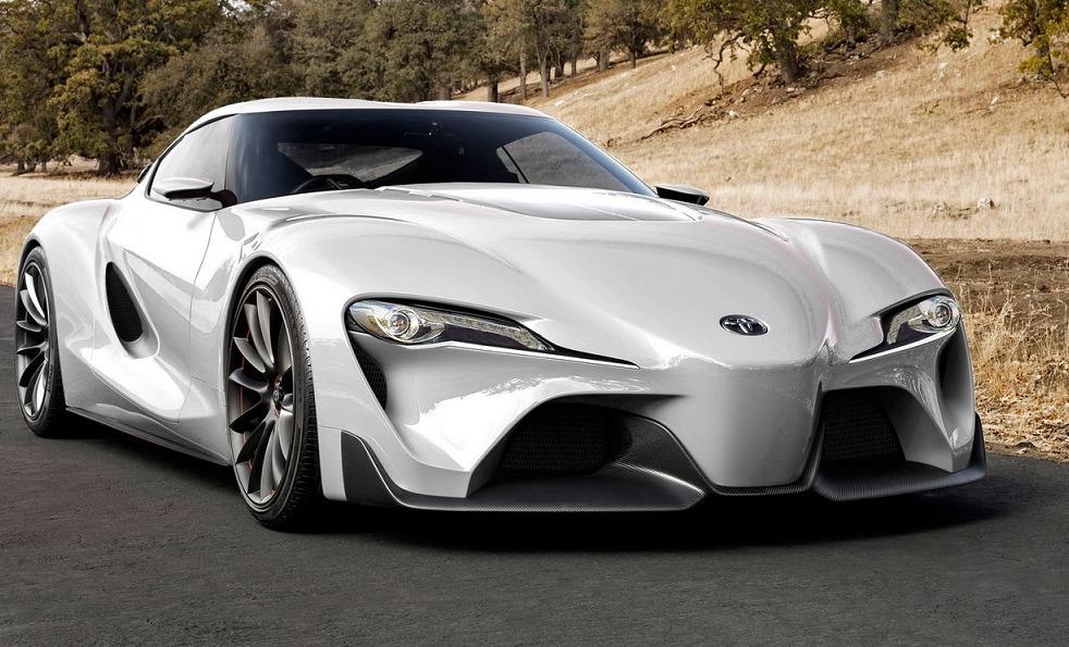 2017 Toyota Supra White 1024×680
