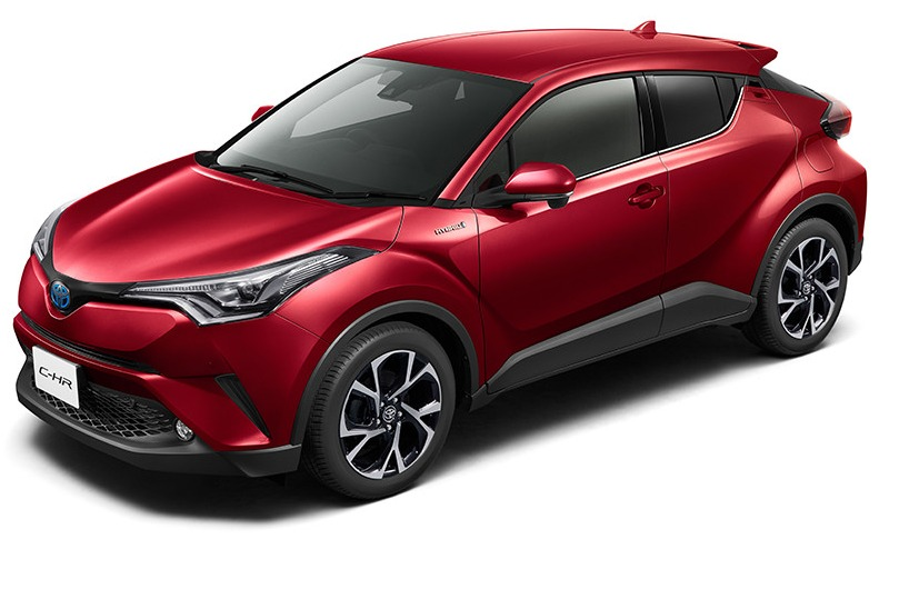 C-HR 2016 jp red