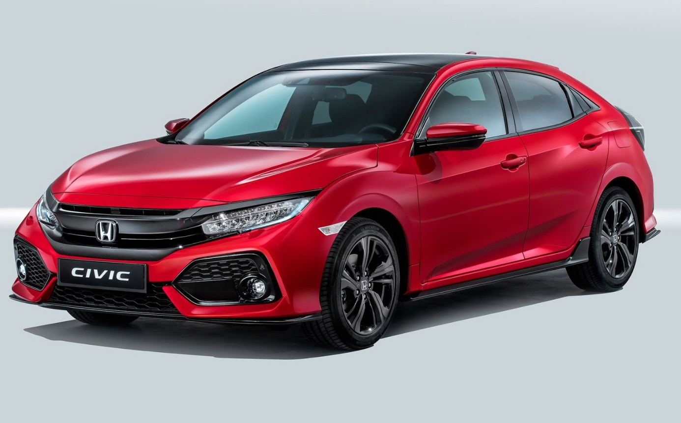 EU 2017 Honda Civic 6 Hatch