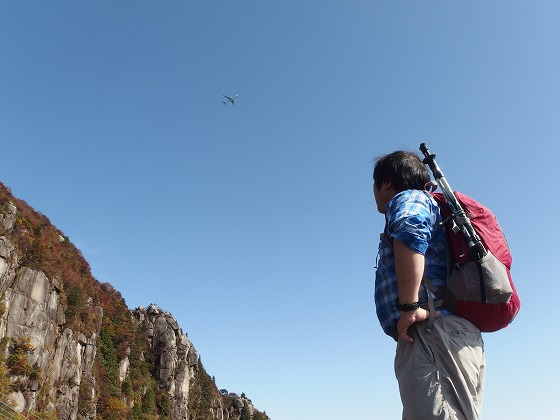 161030御在所岳の紅葉-大黒岩-4