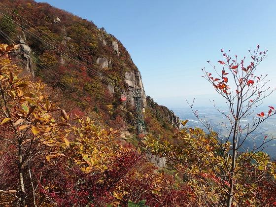 161030御在所岳の紅葉-大黒岩へ-1