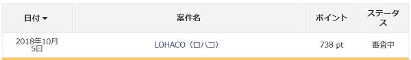 LOHACO アメフリ(旧i2iポイント)審査中