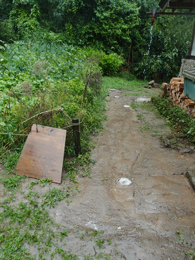下水道工事後
