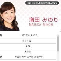 増田みのりアナ