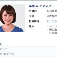 髙橋泉アナ