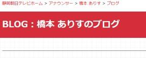 橋本 ありすのブログ