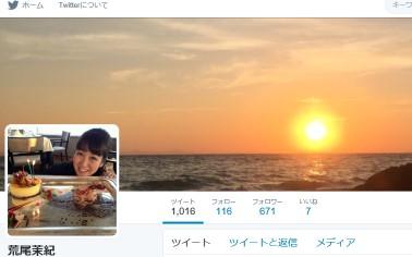 荒尾茉紀(@maki1118maki)