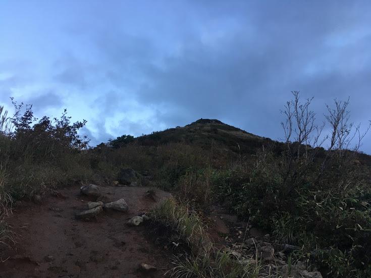 2018鉢伏山/手前のピーク