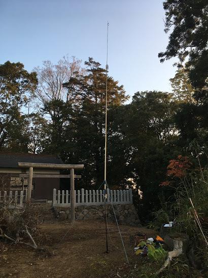 2018羽束山/神社前