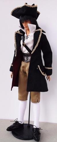 海賊スタイル 黒