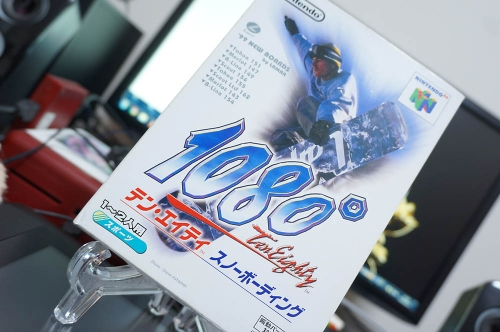 【NINTENDO64】1080°SNOWBOARDING