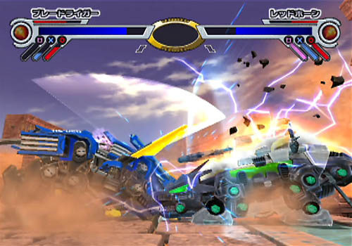 【フルメタルクラッシュ】ゾイド初の格闘ゲーム……は前作の話