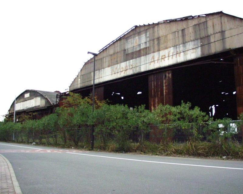 雁ノ巣飛行場跡の格納庫2