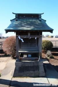 浅間神社(北葛飾郡杉戸町才羽)3