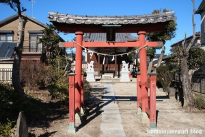 諏訪神社(北葛飾郡杉戸町倉松)2