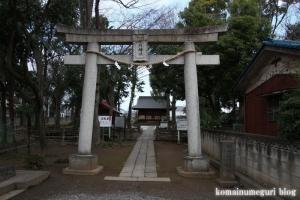 内谷氷川神社(さいたま市南区内谷)2