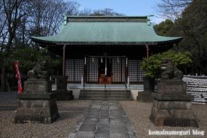 新曽氷川神社(戸田市氷川町)9