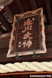 新曽氷川神社(戸田市氷川町)10