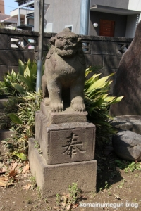 上戸田氷川神社(戸田市上戸田)34