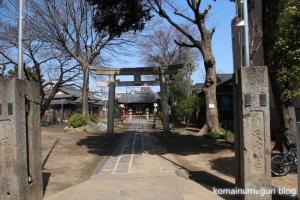 上戸田氷川神社(戸田市上戸田)1