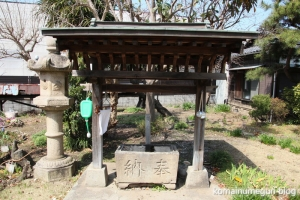 下戸田氷川神社(戸田市中央)6