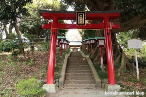 八坂神社(多摩市連光寺)2