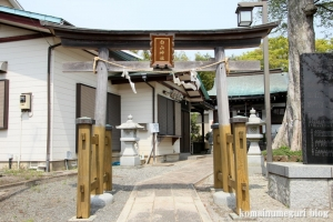 白山神社(多摩市連光寺)2