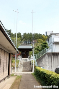 御嶽神社(多摩市永山)4
