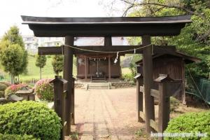 貝取神社(多摩市豊ヶ丘)4