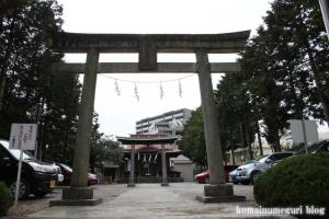 八幡神社(多摩市豊ヶ丘)2