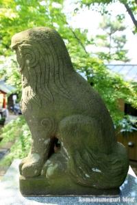 入谷氷川神社(足立区入谷)19