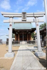皿沼稲荷神社(足立区皿沼)1