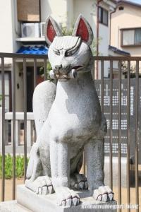 皿沼稲荷神社(足立区皿沼)6