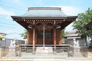 皿沼稲荷神社(足立区皿沼)7