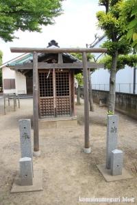 島氷川神社(足立区鹿浜)3
