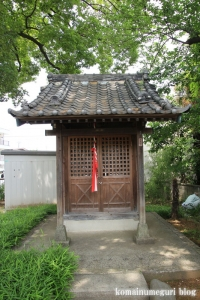島氷川神社(足立区鹿浜)10