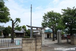 島氷川神社(足立区鹿浜)1