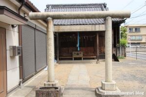 北野神社(足立区鹿浜)2