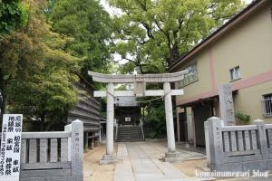 八幡神社(足立区鹿浜)1
