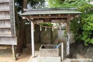 八幡神社(足立区鹿浜)5