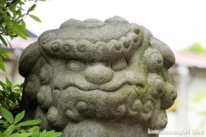 八幡神社(足立区鹿浜)23